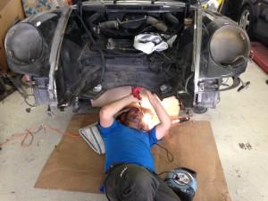 Préparation du bloc avant 911 912