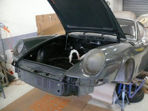 Bloc avant remonté et peint 911 912
